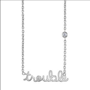Diamond and Sterling Silver Sydney Evan Trouble